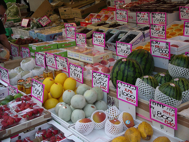 Cost a key factor in falling fruit consumption in Japan