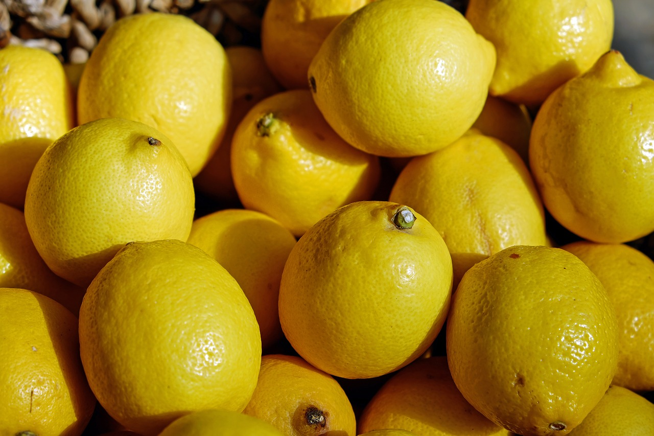 Lemons quite pricey in Australia right now